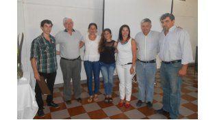 Encuentro. Las autoridades municipales recibieron a los representantes de la Ramcc.