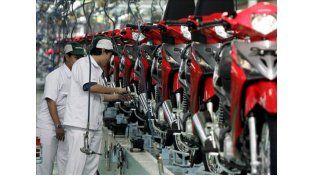 El patentamiento de motos repuntó en marzo