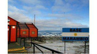 Francisco llamó de sorpresa a la base Marambio para desear felices pascuas