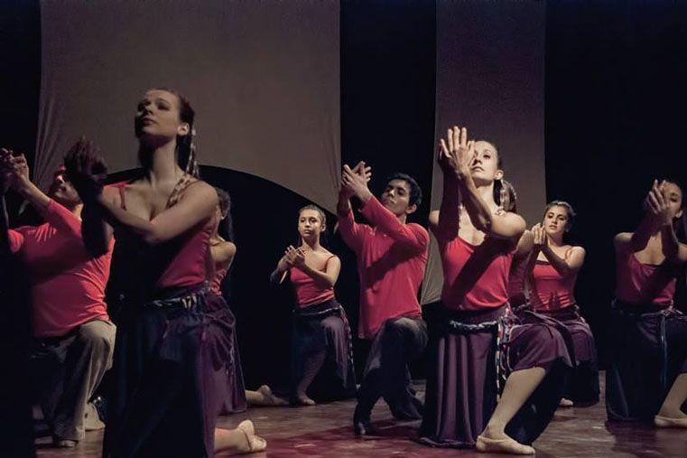 Más de 60 bailarines en escena darán brillo al homenaje. Foto: Gentileza E. MacYntire