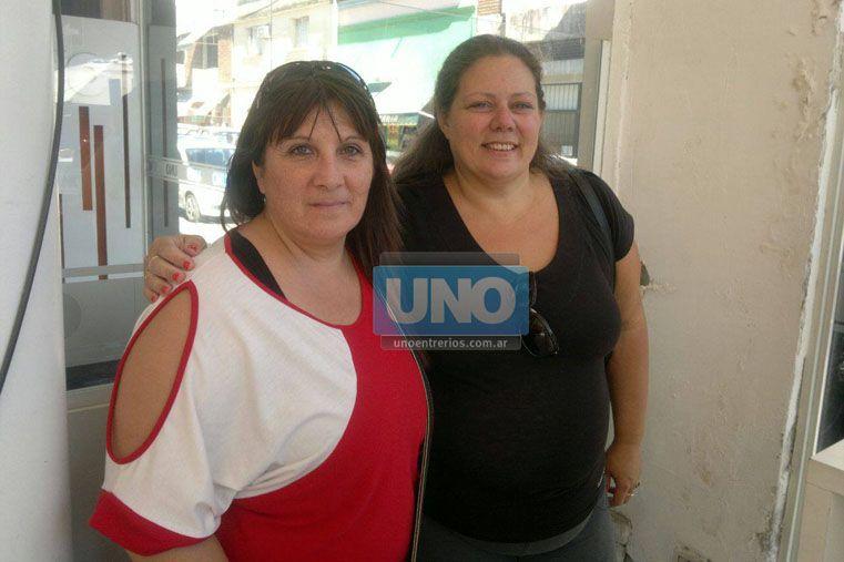 En la tarea. Acosta y Sarno están al frente de Cuidadores Domiciliarios. Foto UNO/Pablo Felizia