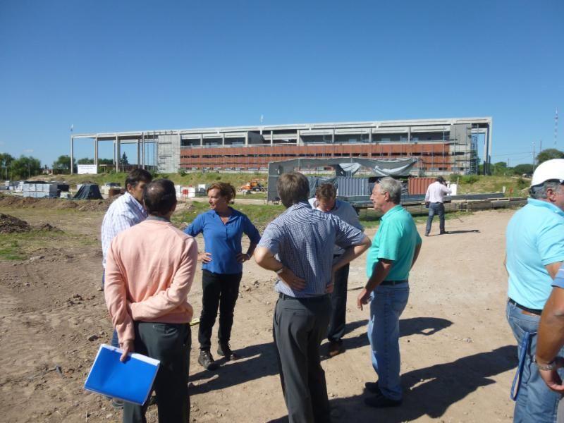 La obra del nuevo hospital de Paraná registra un 70% de avance