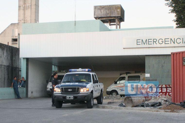 Los heridos se recuperan en el hospital San Martín. (Foto UNO/Archivo/Ilustrativa)