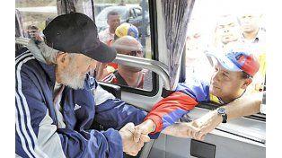 Después de 14 meses, reapareció Fidel Castro