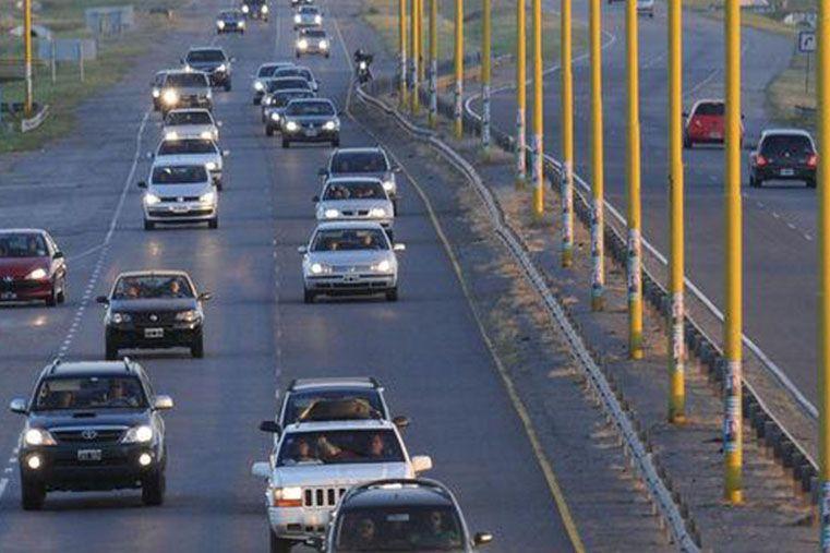 Más de 83.000 vehículos ingresaron en lo que va del fin de semana largo