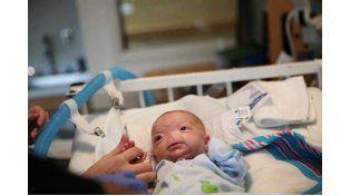 Conocé la historia de Eli Thompson, el bebé que nació sin nariz