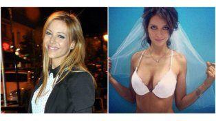 Evangelina Anderson dijo que Zaira Nara no pagó el vestido de su boda frustrada con Forlán