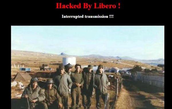 Hackearon sitios web británicos con extensión en las Malvinas