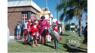 #UNOenLaCalle: El Vía Crucis de los más chiquitos