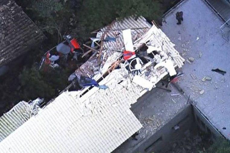 Cayó un helicóptero en San Pablo y murieron cinco personas