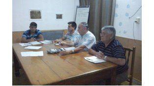 Autoridades de la Liga Paranaense de Fútbol. Foto UNO/Lautaro López