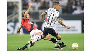 El partido se jugó ayer por Copa Libertadores. Foto: Pasión Libertadores