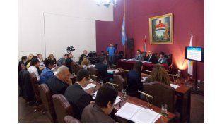 Segunda del año. La sesión del Concejo Deliberante de Paraná se realizó en la Casa de la Ciudad.