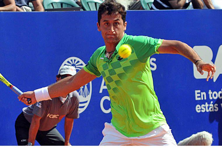El español Nicolás Almagro. Foto: Télam