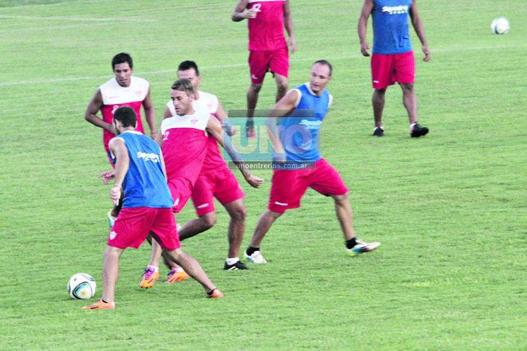 Atlético Paraná reiterará alineación por tercer fin de semana seguido.  (Foto UNO/Diego Arias)