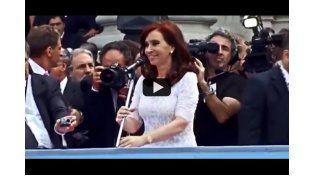 """El video donde Cristina canta el tema """"Tengo"""" de Sandro"""