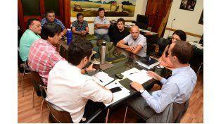 Paritaria 2015: El Ejecutivo municipal mantuvo reuniones con representantes de los gremios