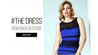¿Por qué el vestido se ve de colores diferentes?