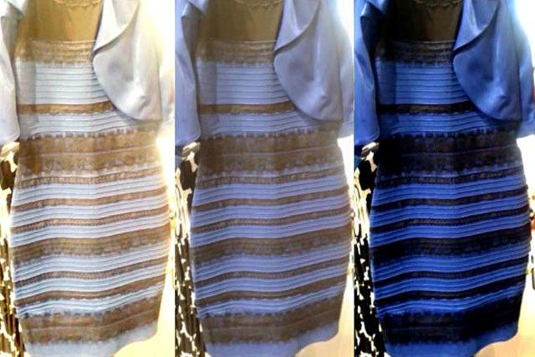 Internet enloquece con el debate del color del vestido