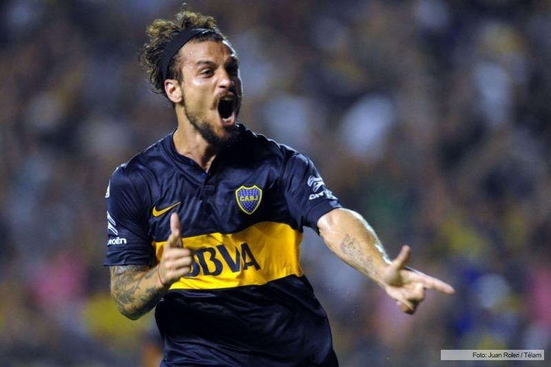 Con un gol del debutante Osvaldo, Boca le ganó a Montevideo Wanderers