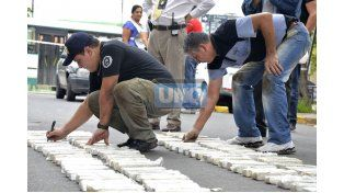 Incautan importante cargamento de marihuana en Paraná
