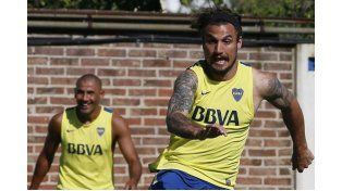 Osvaldo jugará su primer partido oficial. (Foto: Télam)