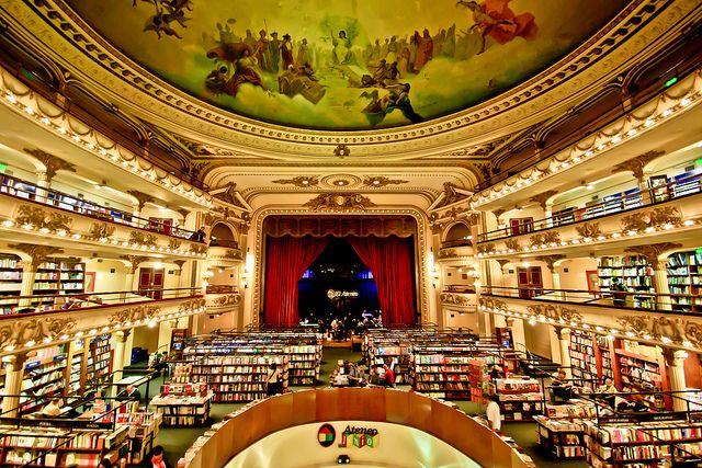 Buenos Aires es la ciudad con la mayor cantidad de librerías del mundo