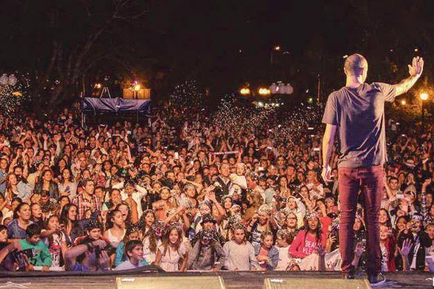 UNA MULTITUD. Cada edición de la Fiesta del Ternero congrega a un gran marco de público.(Prensa Municipal de San José de Feliciano)