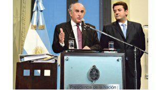 Sospechas. Los funcionarios nacionales informaron los datos que se recolectaron para efectuar la presentación. Foto: Télam