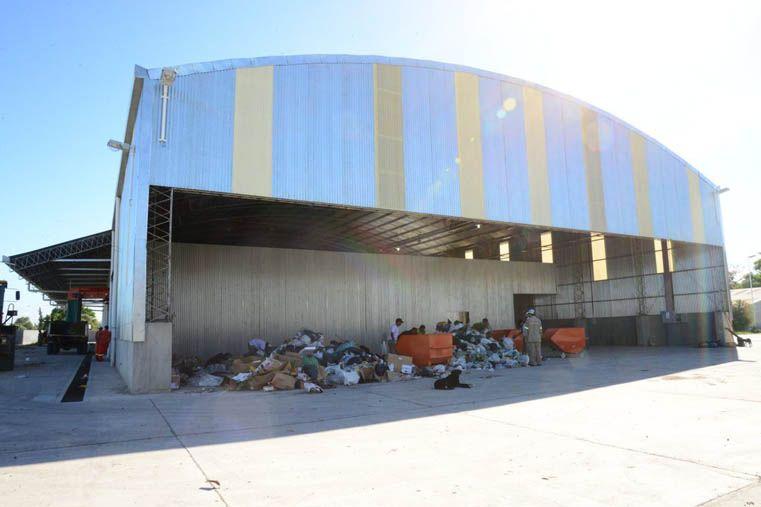 Abordaje integral. Desde el municipio se realizan diversas acciones para tratar la basura.