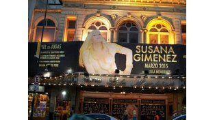 Susana Giménez ensayó por primera vez en el teatro