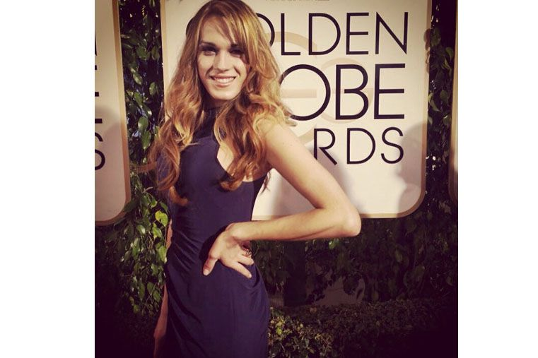 La novia travesti del argentino ganador del Oscar