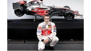 Se accidentó Alonso durante una sesión de entrenamientos