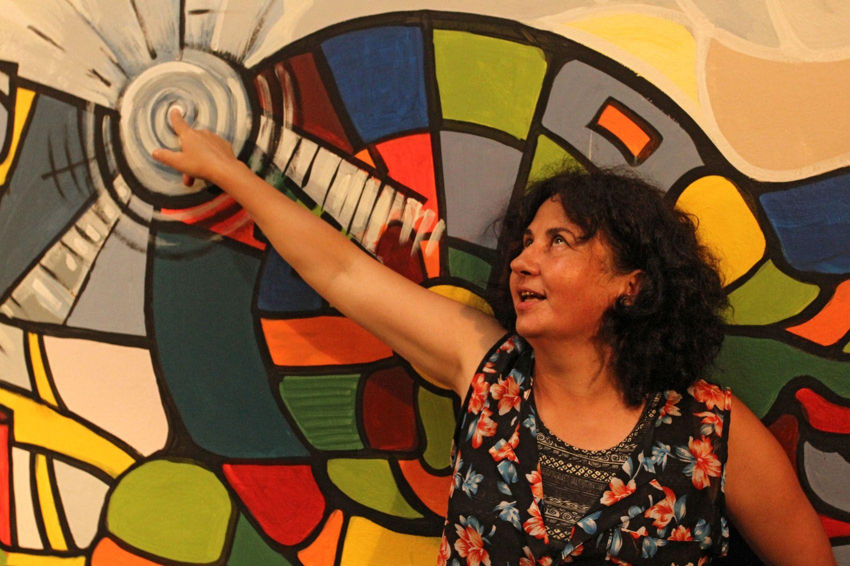"""Compromiso. """"El fundamento del trabajo cultural es poner el cuerpo"""". (Foto UNO/Diego Arias)"""