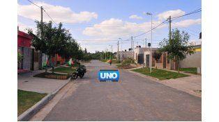 Tranquilidad. Los vecinos valoran la paz. (Foto UNO/Juan Manuel Hernández)