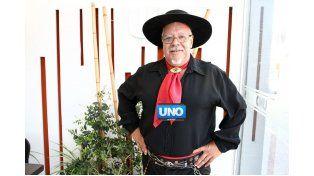 Buratti visitó la Redacción de UNO. (Foto UNO/Diego Arias)