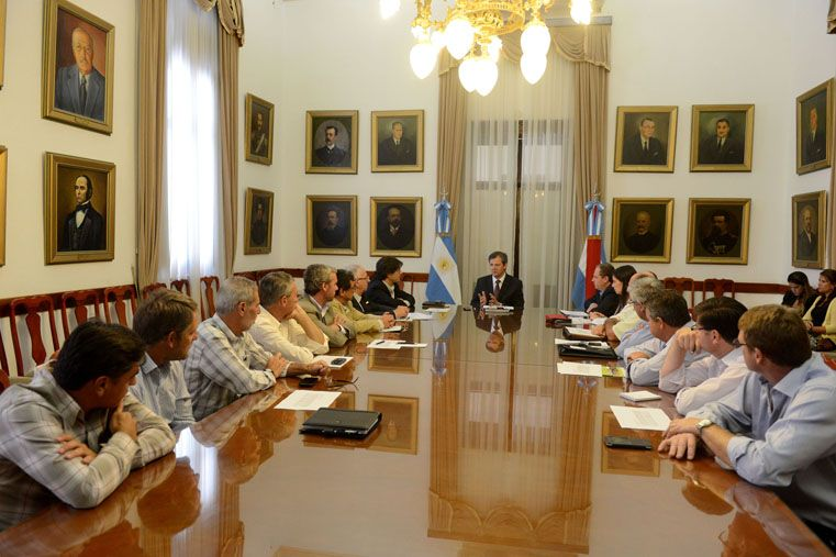 Metodología. Ordoñez y Lovera destacaron como positiva la modalidad de trabajo con la gestión Urribarri.