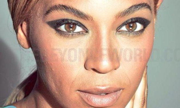 Se filtraron más de 200 fotos de Beyoncé sin Photoshop