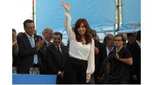 Simpatizantes saludaron a Cristina en su cumpleaños