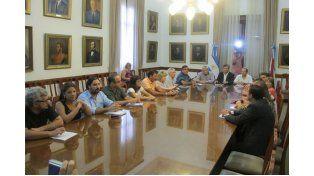 El jueves los gremios se reunieorn con funcionarios provinciales