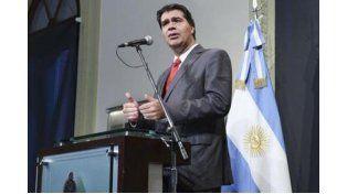 Jorge Capitanich. Foto: Télam