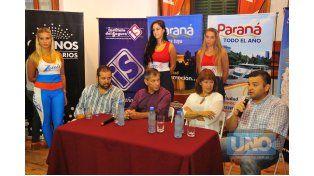 Ayer las autoridades dieron detalles de la competencia. Foto UNO/Juan Manuel Hernández