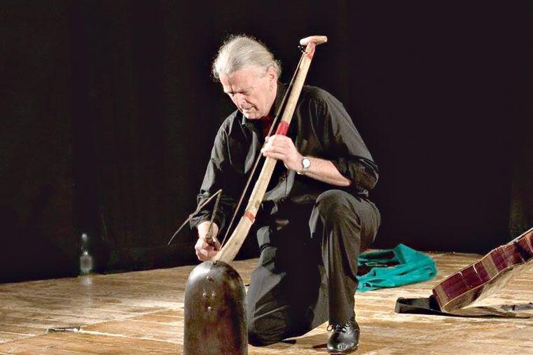 PRESENCIA INTERNACIONAL.    El danés Jan Ferslev es un destacado músico y actor.
