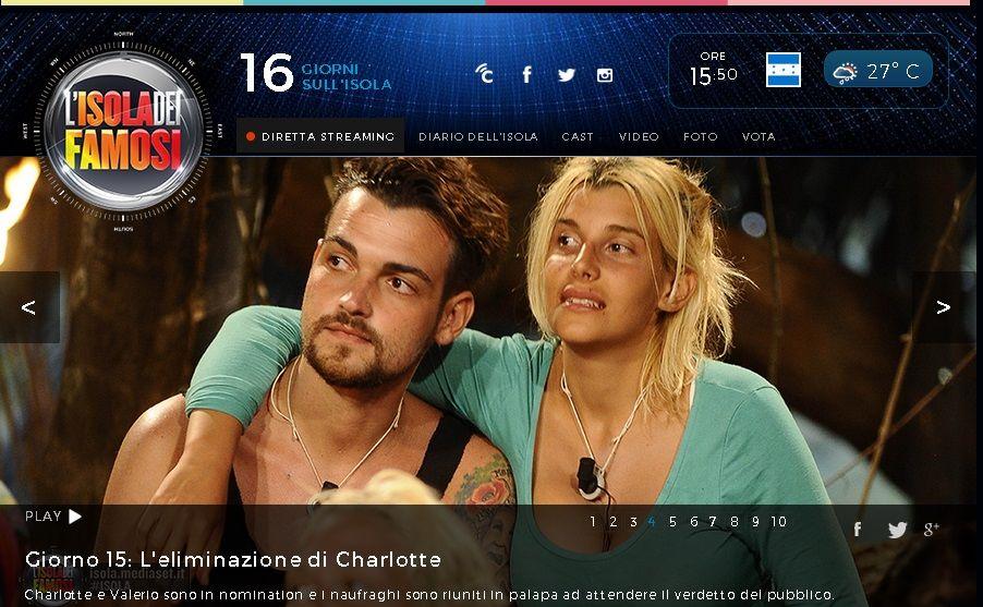 El público echó a Charlotte Caniggia del reality italiano LIsola di Famosi