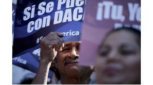 Calles. Manifestantes norteamericanos reclaman seguridad ante posibles nuevos atentados en su territorio. Foto: AP