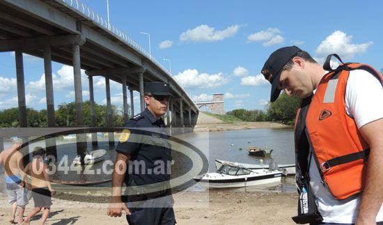 Se ahogó un hombre que remaba en el riacho Itapé