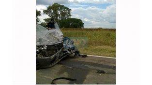 Un muerto y tres heridos a raíz de un choque frontal ocurrido en la ruta 12