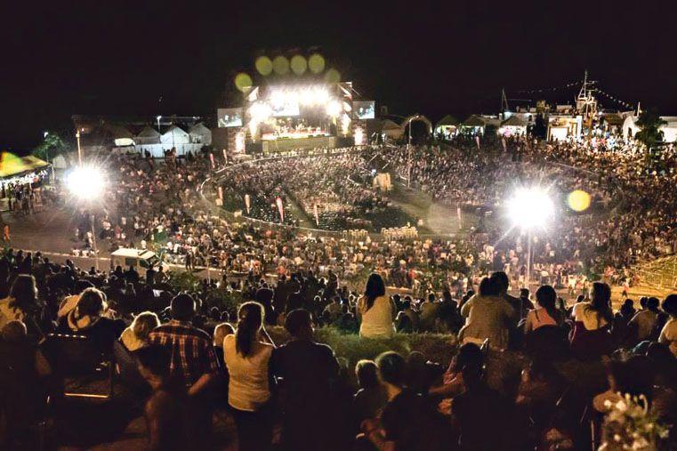 MULTITUDINARIA. La Fiesta del Mate cerró el domingo y contó con más de 18.000 personas. Foto: Gentileza/Facebook Cultura Paraná