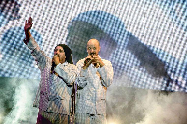 SONARON MUY BIEN. La Bersuit tocó el domingo en el último día de la Fiesta del Mate. Recorrieron los temas más importantes de su trayectoria y nuevos cortes. El público