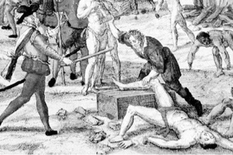 Origen. El holocausto de Abya yala es la fuente oculta de la riqueza de Europa